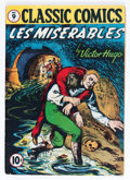 Golden Age (1938-1955):Classics Illustrated, Classic Comics #9 Les Miserables - First Edition (Gilberton, 1942) Condition: GD/VG....