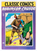 Golden Age (1938-1955):Classics Illustrated, Classic Comics #10 Robinson Crusoe - First edition (Gilberton, 1943) Condition: VG/FN....