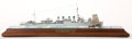 Paintings, 'GETTING UNDERWAY' DIORAMA OF THE USS 'PARROTT'. A Clemson-class destroyer in the United States Navy during World War II, th...