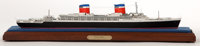 SEALINE MODEL OF SS 'UNITED STATES' American Marine and Ship Model Gallery, Salem MA The SS 'United States is a