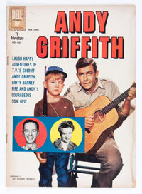 Four Color #1252 Andy Griffith (Dell, 1962) Condition: GD