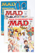 Magazines:Mad, Mad Magazine #35 and 74-76 Group (EC, 1957-63) Condition: AverageVF.... (Total: 4 Comic Books)