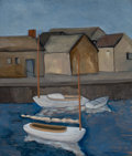 Fine Art - Painting, American:Modern  (1900 1949)  , RALSTON CRAWFORD (American, 1906-1978). Nantucket, 1932. Oilon canvas. 26 x 22 inches (66.0 x 55.9 cm). Signed lower ri...