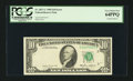 Error Notes:Foldovers, Fr. 2027-C $10 1985 Federal Reserve Note. PCGS Very Choice New64PPQ.. ...