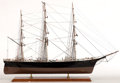 Maritime:Decorative Art, MODEL OF THE CLIPPER SHIP 'FLYING CLOUD'. 'Flying Cloud' is one ofthe most famous and, reportedly, most beautiful ships in ...