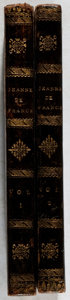 Books:Literature Pre-1900, Madame la Comtesse de Genlis. Jeanne de France. Vol. I &II. Maradan, 1816. First edition, first printing. Owner... (Total:2 Items)