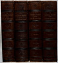 Books:Americana & American History, James Grant Wilson [editor]. The Memorial History of the City ofNew-York. Vol. I-IV. New-York History, 1892. Fi... (Total: 4Items)