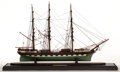Maritime:Decorative Art, SCALE SHIP MODEL OF THE 'RAKAIA'. American Marine and Ship ModelGallery, Salem MA. Built in 1873 for the New Zealand Shippi...