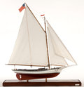 Maritime:Decorative Art, MODEL OF FRIENDSHIP SLOOP 'ESTELLA'. A point of pride for thepeople of Mystic, Connecticut and their Seaport, the Estella i...
