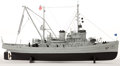 Maritime:Decorative Art, MODEL OF THE USS 'APACHE'. USS 'Apache' was a fleet ocean tug ascommissioned by the US Navy from 1942 to 1946 and from 1951...