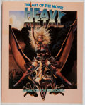 Books:Science Fiction & Fantasy, Carl Macek. INSCRIBED. Heavy Metal: The Art of the Movie. New York Zoetrope, 1981. First edition, first printing. ...