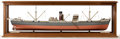 Paintings, VINTAGE BUILDER'S MODEL OF THE SHIP 'ROYAL EMBLEM'. A steel screw steamer built in 1940 by Joseph L. Thompson & Sons Ltd, Su...