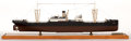 Maritime:Decorative Art, SHIP MODEL OF USS 'COLLINGSWORTH'. USS 'Collingsworth' was aHaskell-class attack transport of the United States Navy active...