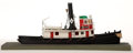 Maritime:Decorative Art, MODEL OF 'LAMOINE' STEAM TUGBOAT. A charming model from the LamoineRiver, IL.. Presented on stand.. 7 x 18 x 7-1/2 inches (...