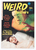Golden Age (1938-1955):Horror, Weird Thrillers #1 (Ziff-Davis, 1951) Condition: VG/FN....