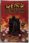 Books:Horror & Supernatural, Joe R. Lansdale [editor]. INSCRIBED. Weird Business. Mojo,1995. First edition, first printing. Signed and inscrib...