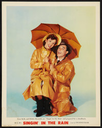 "Singin' in the Rain (MGM, 1952). Deluxe Lobby Card (11"" X 14""). Musical"