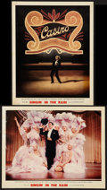 """Movie Posters:Musical, Singin' in the Rain (MGM, 1952). Deluxe Lobby Cards (2) (11"""" X 14""""). Musical.. ... (Total: 2 Items)"""
