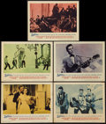 "Movie Posters:Rock and Roll, Jamboree (Warner Brothers, 1957). Lobby Cards (5) (11"" X 14""). Rockand Roll.. ... (Total: 5 Items)"
