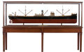 Maritime:Decorative Art, SHIP BUILDER'S MODEL OF THE SISTERSHIPS 'VINEMOOR' AND 'WESTMOOR'.A large-scale builder's model of the British, sister frei...