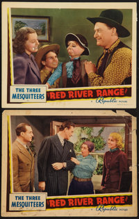 "Red River Range (Republic, 1938). Lobby Cards (2) (11"" X 14""). Western. ... (Total: 2 Items)"