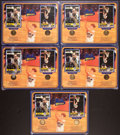 Basketball Collectibles:Others, Bill Walton and John Wooden Multi Signed Displays Lot of 5....