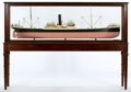 Maritime:Decorative Art, BUILDER'S MODEL OF STEAMSHIP 'FOYLE'. A finely detailed builder'sstyle, scale model of the 400 foot, Sunderland-built freig...