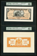Canadian Currency: , Port of Spain, Trinidad- The Royal Bank of Canada $100 (£20-16-8)January 2, 1920 Ch. # 630-66-06FP/BP Face/Back Proofs. ... (Total:2 notes)