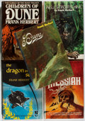 Books:Science Fiction & Fantasy, Frank Herbert. Group of Five Book Club Editions. 1956-1976. Very good.... (Total: 5 Items)