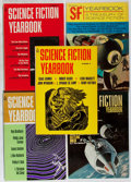 Books:Science Fiction & Fantasy, Science Fiction Yearbook. Group of the First 5 Issues. Popular Library, 1967-1971. First edition, first printing. Toning and... (Total: 5 Items)