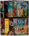 Books:Science Fiction & Fantasy, Galaxy Science Fiction Novel. Continuous Group of Issues No. 11-20. World/Galaxy, 1951-1954. Toning and light wear. Very goo... (Total: 10 Items)