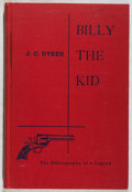 Books:Books about Books, [Books About Books]. Jeff C. Dykes. Billy the Kid: The Bibliography of a Legend. University of New Mexico, 1952....