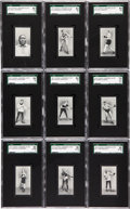 Boxing Cards:General, 1912 Cohen, Weenen and Co. Cigarettes Boxers Complete Set (25) #1on the SGC Set Registry. ...