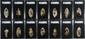 "Non-Sport Cards:Sets, 1934 Carreras ""Film Stars"" Complete Set (72) - #1 on the SGC SetRegistry. ..."