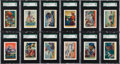 """Non-Sport Cards:Sets, 1936 F375 Pac-Kups """"Jolly Roger Pirates"""" SGC-Graded Complete Set(48)...."""