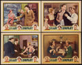 "Movie Posters:Action, Steady Company (Universal, 1932). Lobby Cards (4) (11"" X 14"").Action.. ... (Total: 4 Items)"
