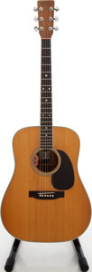 Musical Instruments:Acoustic Guitars, 1972 Martin D-35 Natural Acoustic Electric Guitar, Serial # 329027....