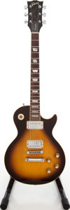 Musical Instruments:Electric Guitars, 1976 Gibson Les Paul Standard Tobacco Sunburst Solid Body ElectricGuitar, Serial # 00235042. ...