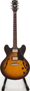 Musical Instruments:Electric Guitars, 1991 Gibson ES-335 Sunburst Semi-Hollow Body Electric Guitar,Serial # 993501335....