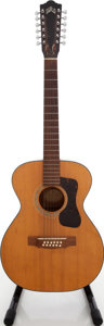 Musical Instruments:Acoustic Guitars, 1968 Guild F-112 Natural 12-String Acoustic Guitar, Serial # 0A477....
