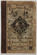 Books:Children's Books, Marcius Willson. The First Reader of the United StatesSeries. Harper, 1872. Scattered soiling and foxing with o...