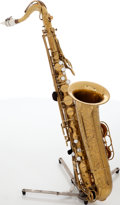 Musical Instruments:Horns & Wind Instruments, Martin Brass Tenor Saxophone, Serial # 206575....