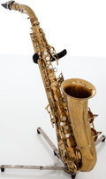 Musical Instruments:Horns & Wind Instruments, C.G. Conn 6M Naked Lady Alto Brass Saxophone, Serial # 277459. ...