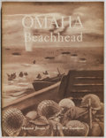 Books:World History, US War Dept. Omaha Beachhead. US Govt., 1945. First edition, first printing. Minor rubbing and toning. Folding color...