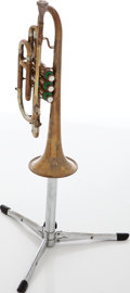Musical Instruments:Horns & Wind Instruments, Early 1950s F.E. Olds & Sons Ambassador Brass Cornet, Serial # 145132....