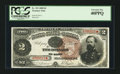 Large Size:Treasury Notes, Fr. 353 $2 1890 Treasury Note PCGS Extremely Fine 40PPQ.. ...