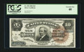 Large Size:Silver Certificates, Fr. 295 $10 1886 Silver Certificate PCGS Extremely Fine 40.. ...