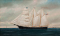 Maritime:Paintings, WILLIAM PIERCE STUBBS (American, 1842-1909). 'Isaac Dodge'.Oil on canvas. 26 x 42 inches (66.0 x 106.7 cm). Signed lowe...