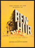 "Movie Posters:Academy Award Winners, Ben-Hur (MGM, 1959). Hardbound Program Book (Multiple Pages, 8"" X11""). Academy Award Winners.. ..."