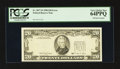 Fr. 2077-D $20 1990 Federal Reserve Note. PCGS Very Choice New 64PPQ